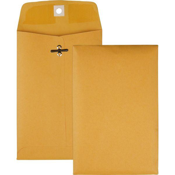 """Quality Park Gummed 5"""" x 7 1/2"""" Clasp Envelopes"""