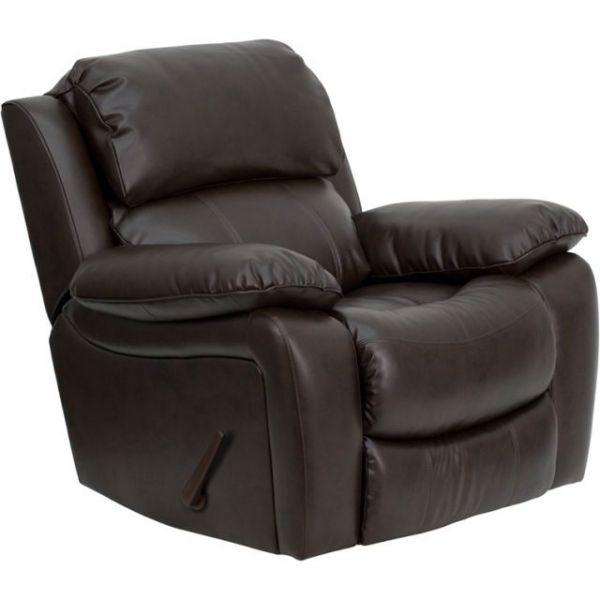 Flash Furniture Brown Leather Rocker Recliner [MEN-DA3439-91-BRN-GG]
