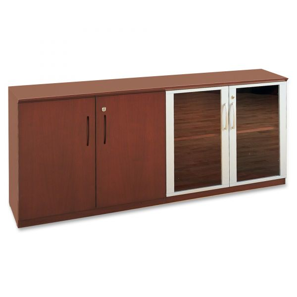 Tiffany Industries Corsica/Napoli Cabinet, 2 Adjustable Shelves, 72X19X29-1/2, Sierra CY