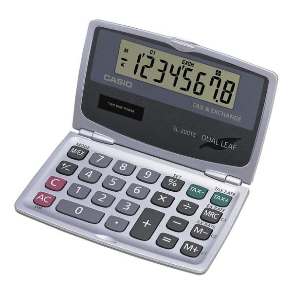 Casio Tax/Currency Exchange Flip Calculator