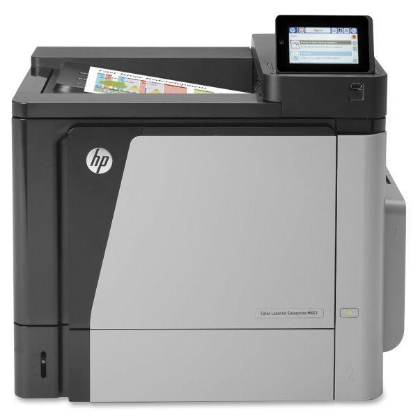 HP Color LaserJet Enterprise M651dn Laser Printer