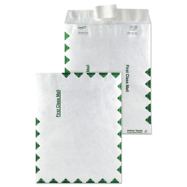 "Quality Park 9"" x 12"" First Class Tyvek Envelopes"