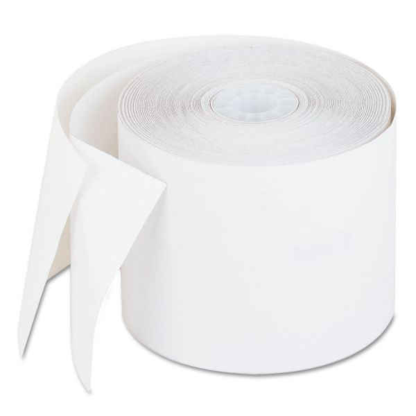 "PM Company Recycled Receipt Roll, 2 1/4"" x 90 ft, White"