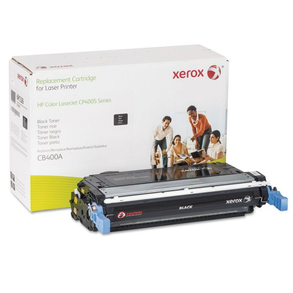 Xerox Remanufactured HP CB400A Black Toner Cartridge