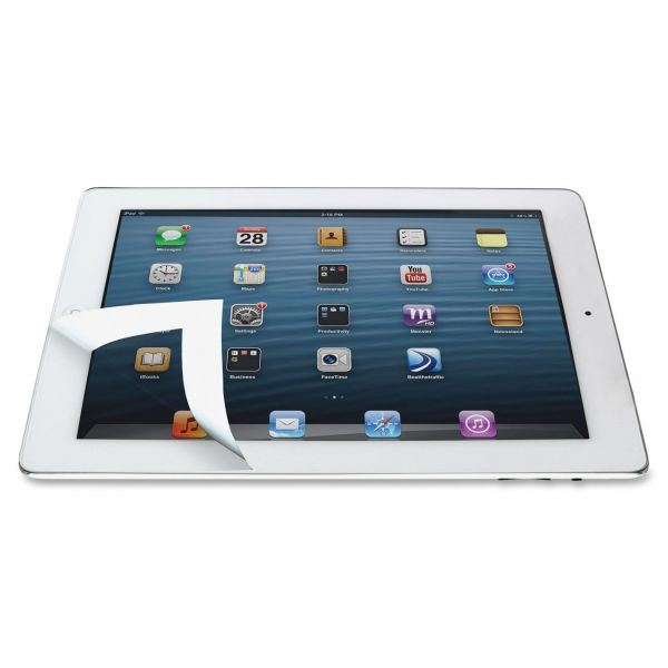 Kantek Bubble-Free Protective Filter for iPad White