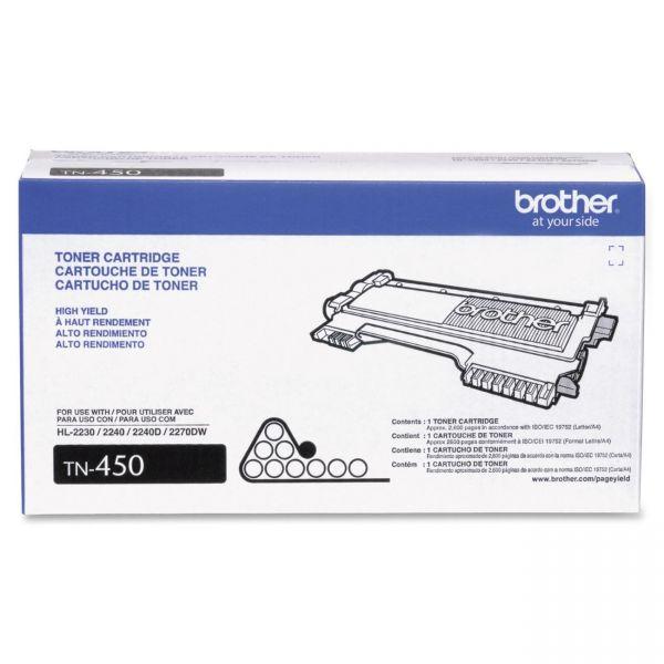 Brother TN-450 High Yield Toner Cartridge