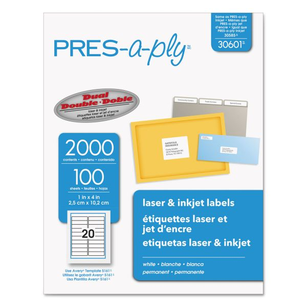 Avery Pres-A-Ply Address Labels