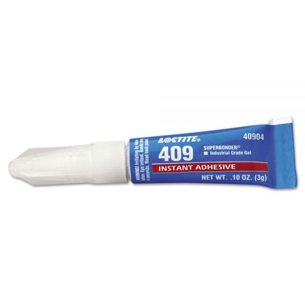 Loctite 409 Super Bonder Instant Adhesive, General Purpose Gel
