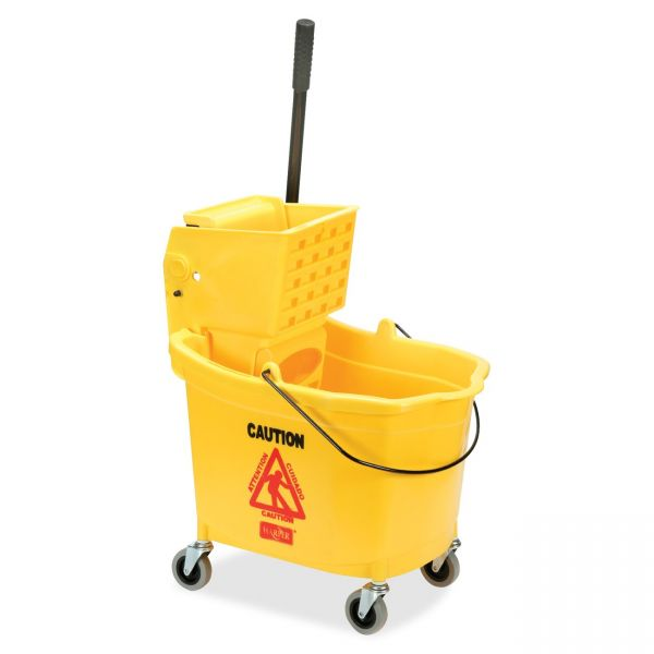SKILCRAFT Wet Mop Bucket/Wringer Combo