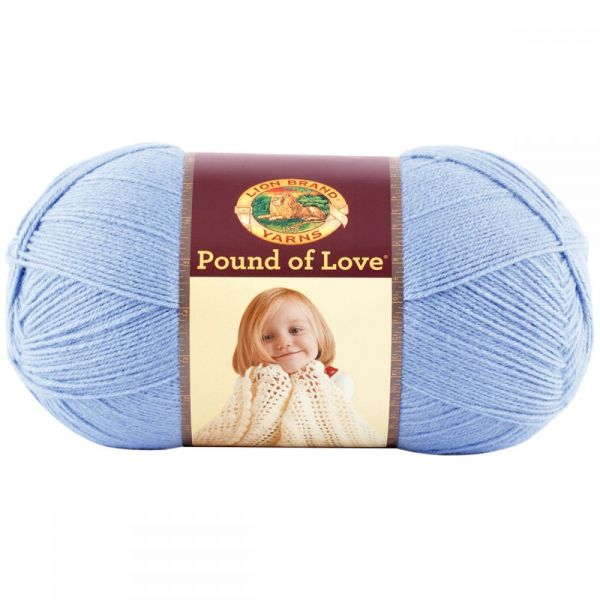 Lion Brand Pound Of Love Yarn - Bluebell