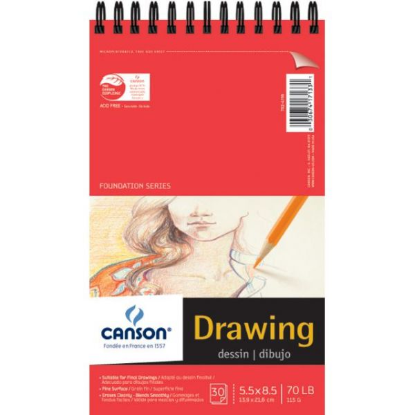 Canson Foundation Series Acid Free Drawing Pad
