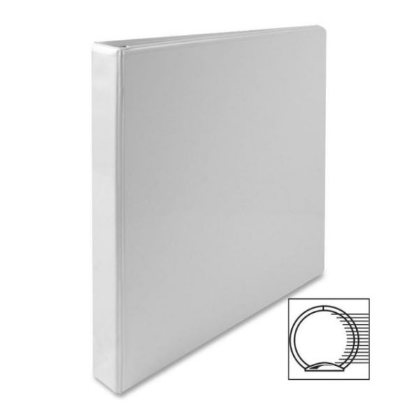 "Sparco Standard 1"" 3-Ring View Binder"