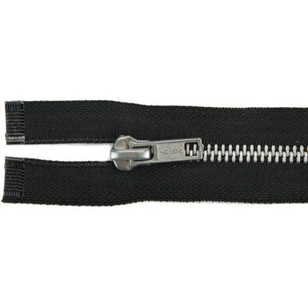 """Heavyweight Aluminum Separating Metal Zipper 20"""""""