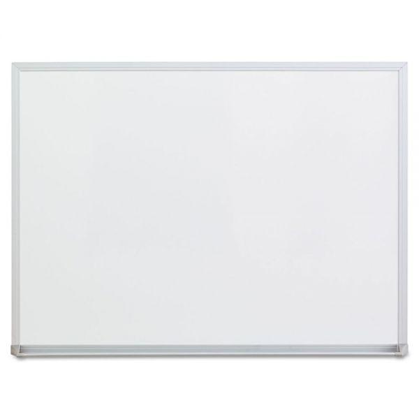 "Universal 24"" x 18"" Melamine Dry Erase Whiteboard"