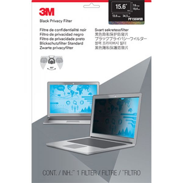 """3M Privacy Filter for 15.6"""" Widescreen Laptop"""