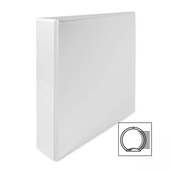 "Wilson Jones A-4 2"" 4-Ring View Binder"