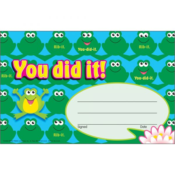 Trend You Did It! Frogs Recognition Awards