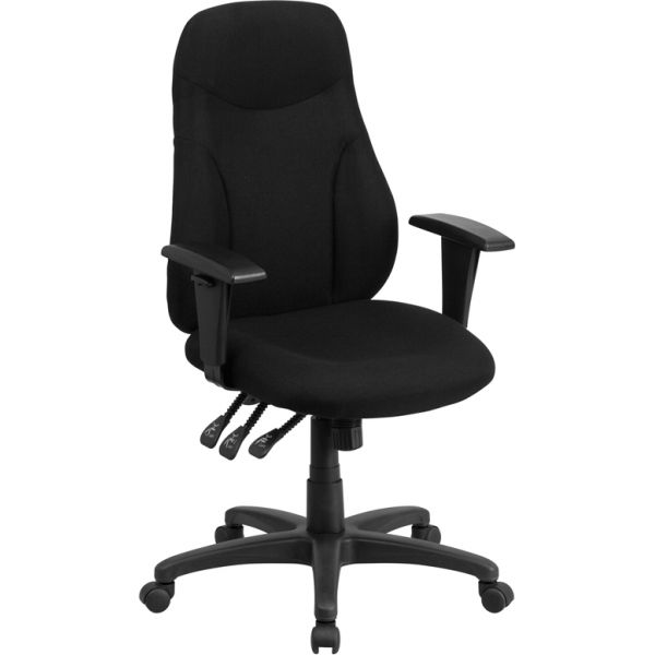 Flash Furniture High Back Ergonomic Swivel Task Chair [BT-90297H-A-GG]