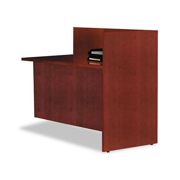 Tiffany Industries Eclipse Series Reception Station Return, 48w x 24d x 42h, Warm Cherry