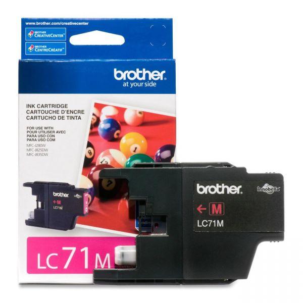 Brother LC71M Magenta Ink Cartridge