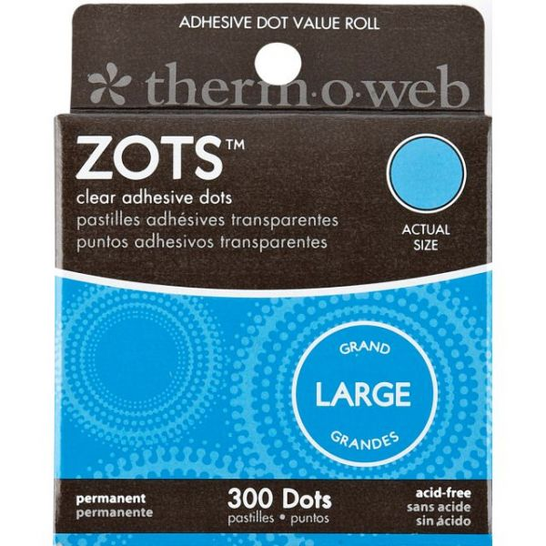 Therm-O-Web Zots Large Clear Adhesive Dots