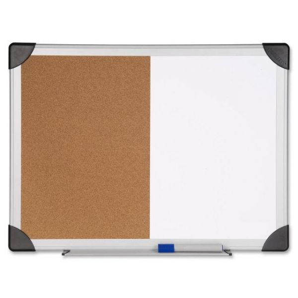 Lorell Combination Dry Erase/Cork Board