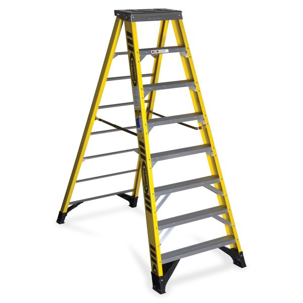 Werner 7308 8 ft Type IAA Fiberglass Step Ladder