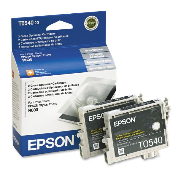 Epson T0540 Gloss Optimizer Cartridges