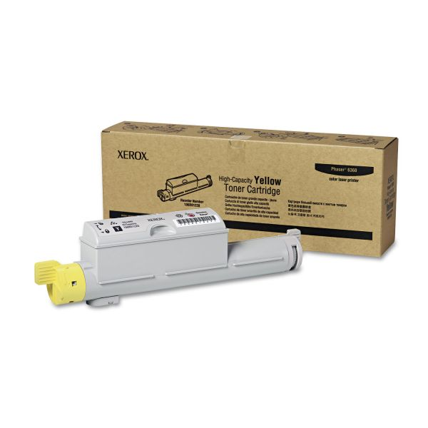 Xerox 106R01220 Yellow High Yield Toner Cartridge
