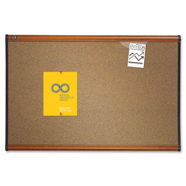 Quartet Prestige Colored Cork Bulletin Board