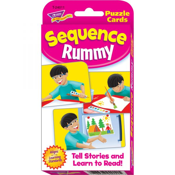 Trend Sequence Rummy Challenge Cards