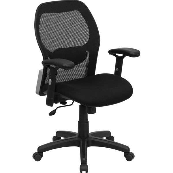 Flash Furniture Mid-Back Super Mesh Office Chair
