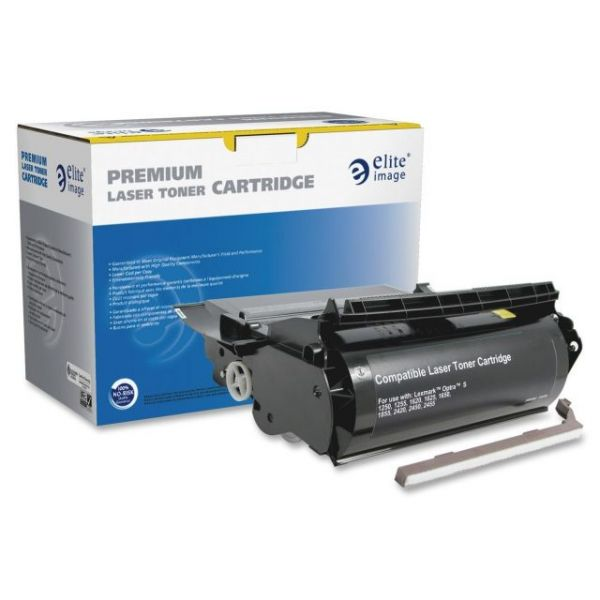 Elite Image Remanufactured High Yield Toner Cartridge Alternative For Lexmark Optra S (1382625)