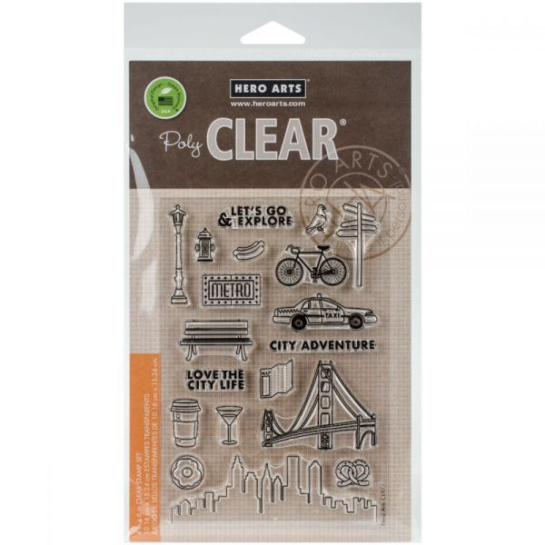 "Hero Arts Clear Stamps 4""X6"""