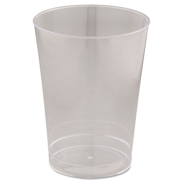 WNA Comet Plastic Tumblers, Cold Drink, Clear, 10oz, 500/Carton