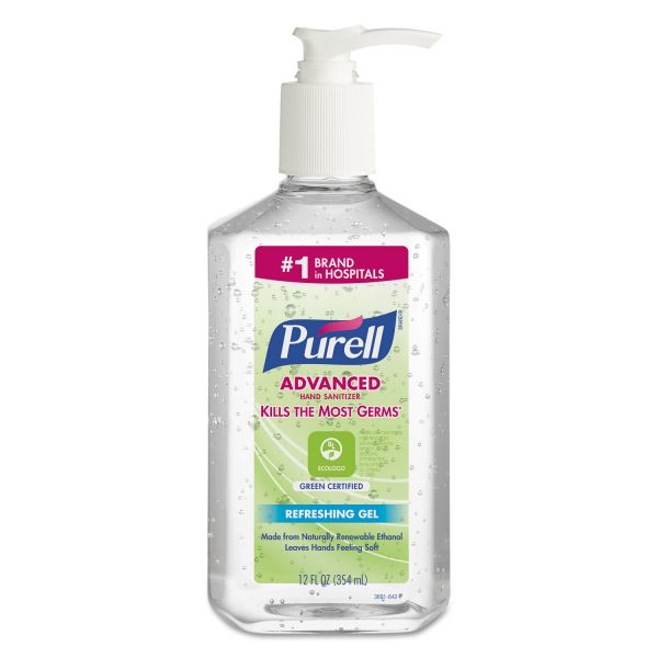 PURELL Advanced Green Certified Instant Hand Sanitizers