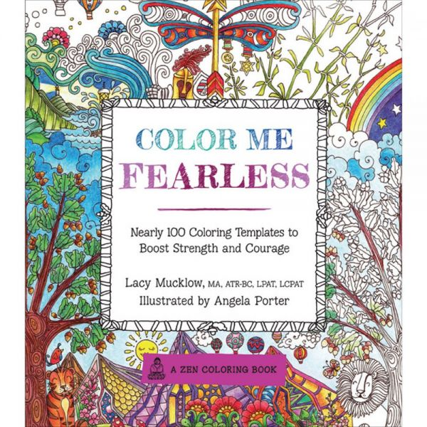 Race Point Publishing Books: Color Me Fearless Coloring Book