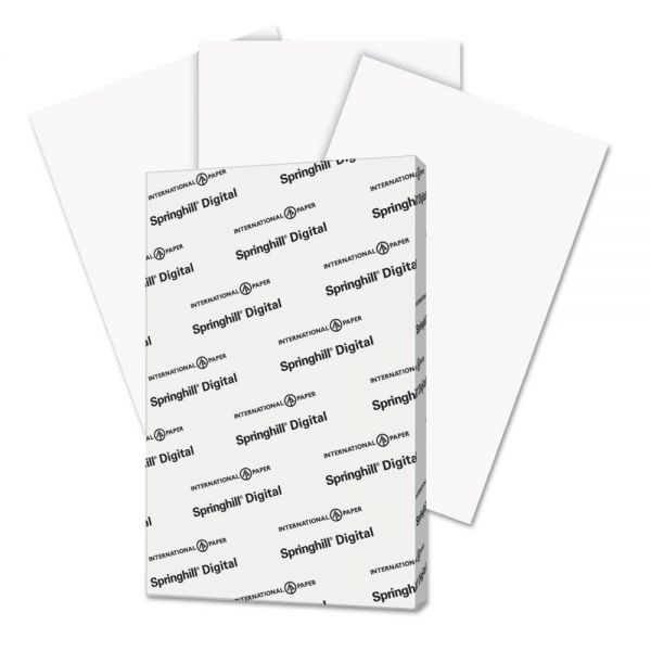 "Springhill Digital Index 11"" x 17"" White Card Stock"