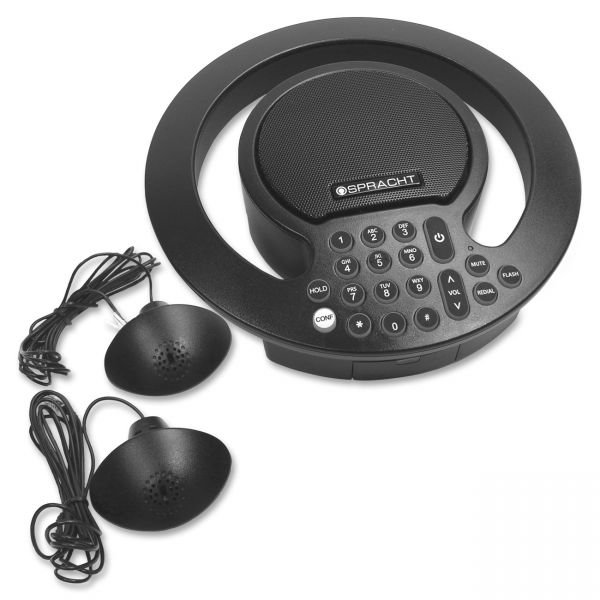 Spracht Aura SoHo Plus Conference Phone - Black