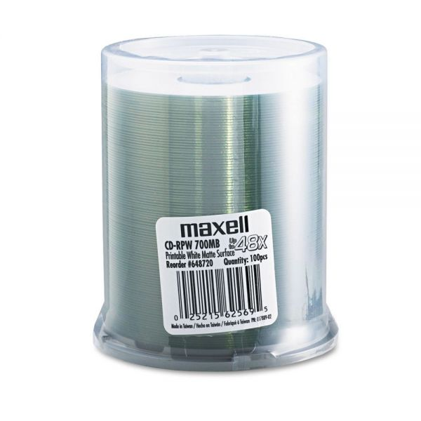 Maxell Recordable CD Media
