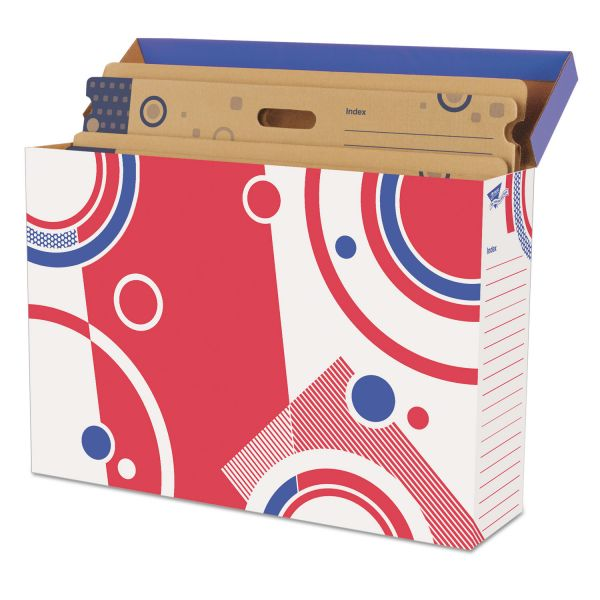 TREND File 'n Save Bulletin Board Storage Box, 27-3/4 x 19 x 7-1/4, Bright Stars