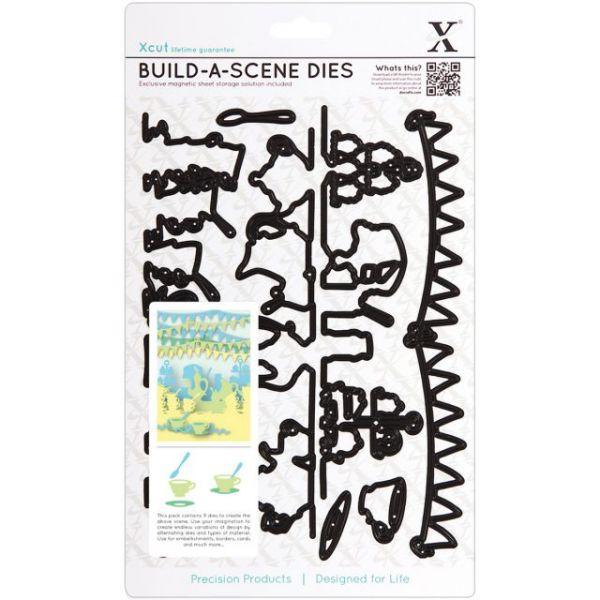 Xcut Build-A-Scene Dies 9/Pkg