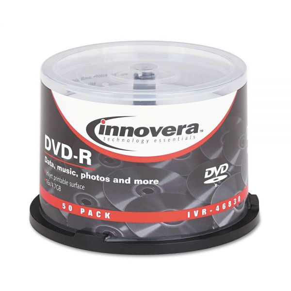Innovera Recordable DVD Media