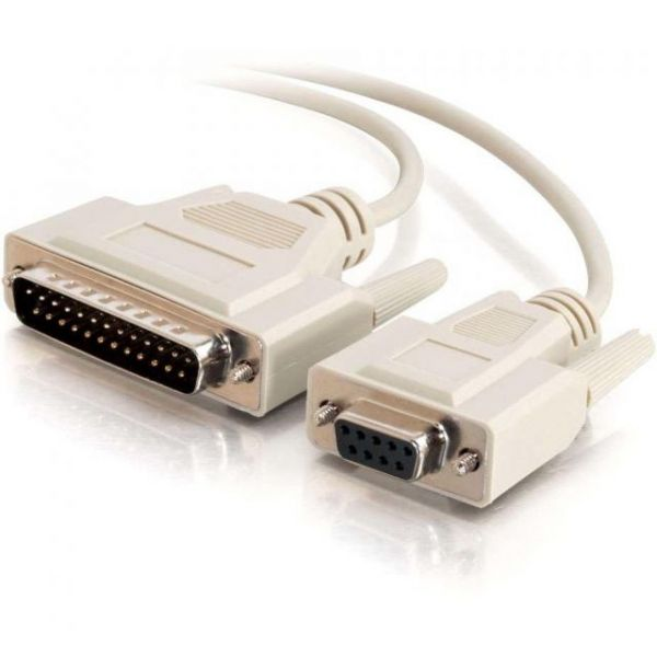 C2G 6ft DB9 Female to DB25 Male Modem Cable