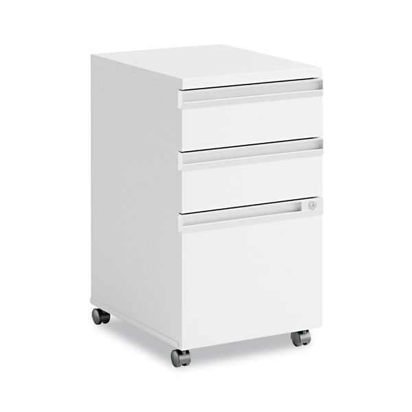 Bush Momentum Collection Mobile Pedestal File (B/B/F), White