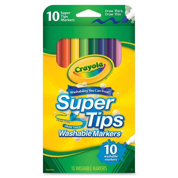 Crayola SuperTips Washable Markers