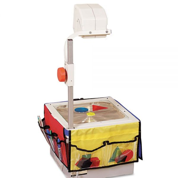 Carson-Dellosa Publishing Overhead Projector Storage, Three 12-1/4 x 7-1/4 Panels w/Six Pockets and Belt