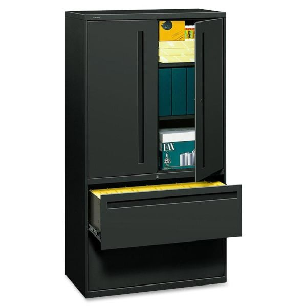 HON 700 Series 2 Drawer Lateral File Cabinet With Storage Case