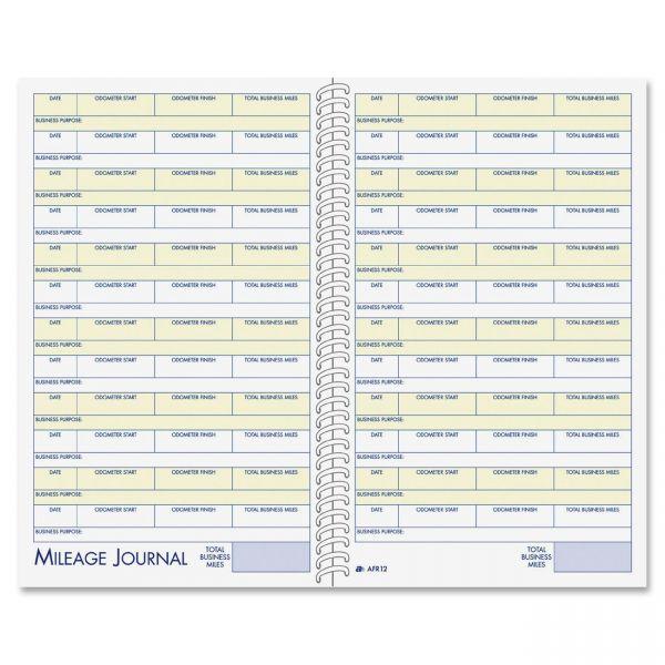 Adams Vehicle Mileage/Expense Journal Pocket