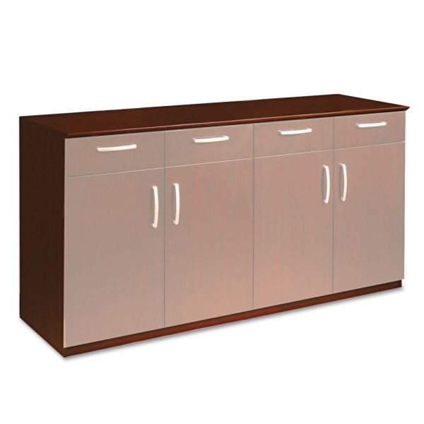 Tiffany Industries Corsica Buffet Credenza, 72Wx22Dx36H, Sierra CY Frame/Top
